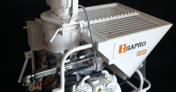 zdjęcie plastering machine for 230 Volts type BAPRO one 230V  WWW.BAPROGLOBAL.COM